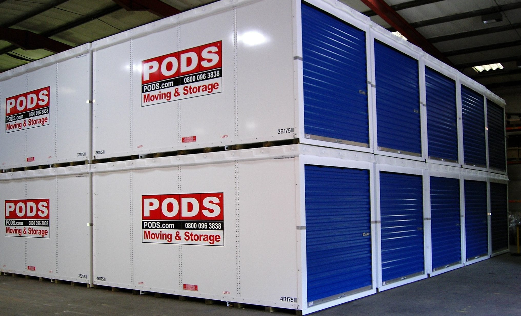 Pods Quote Pods  Self Storage Manchester From Pods Moving And Storage