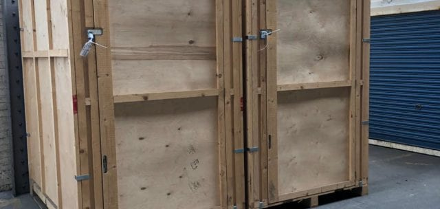 Vaults at Warehouse for Load & Go Storage