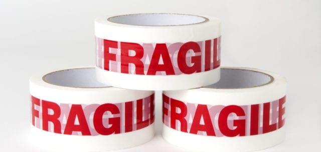 Fragile packing