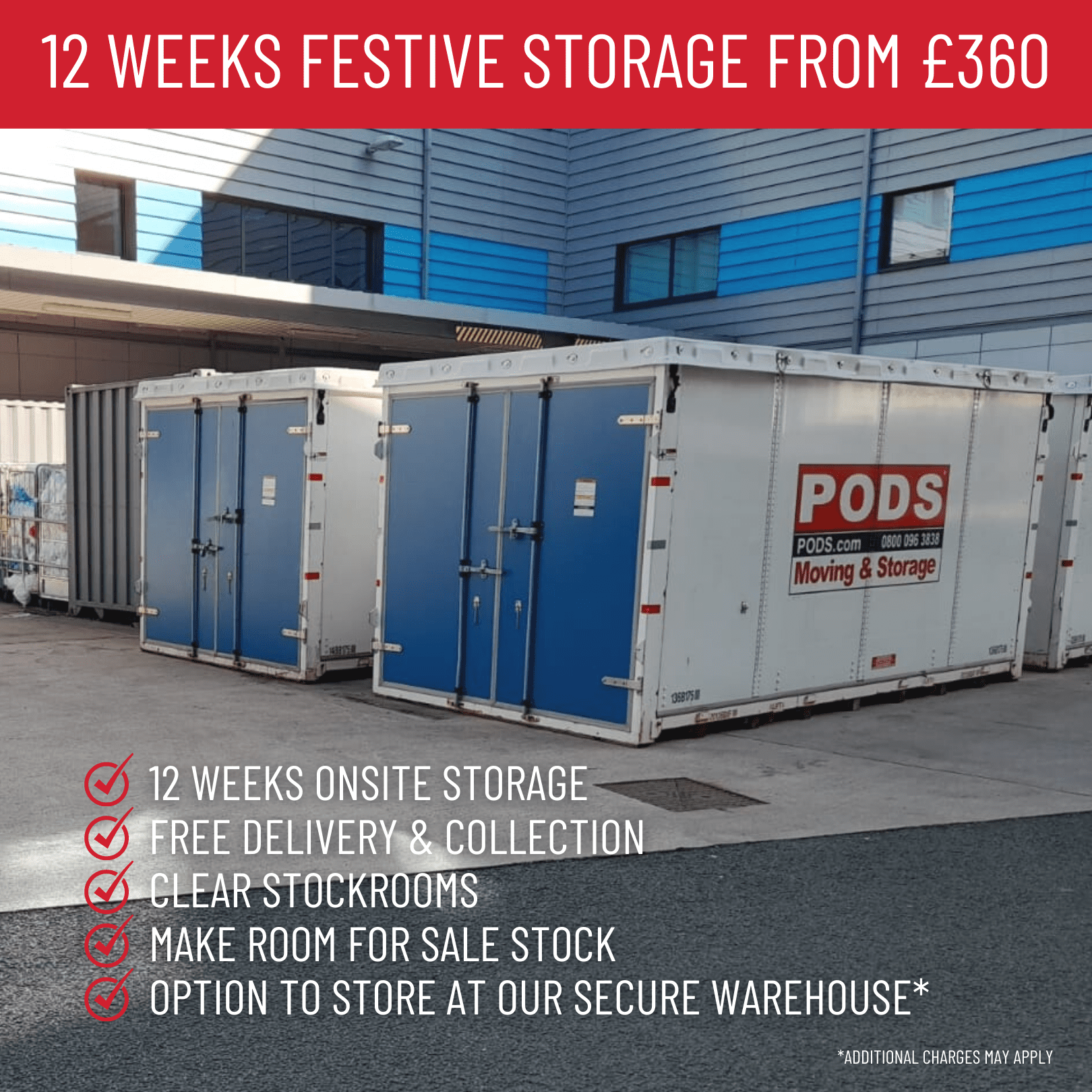 Xmas Retail Storage Offer